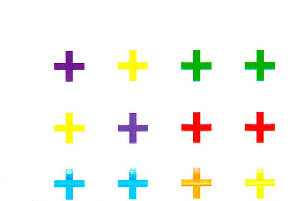 carte postale - 16 croix