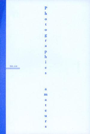 Photographies amateurs N°110 - couverture
