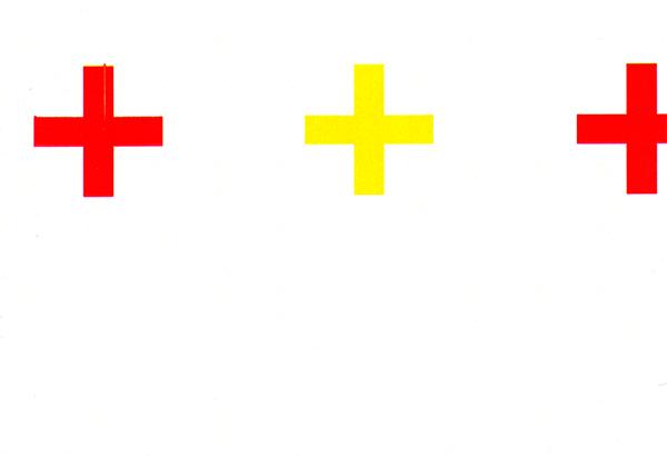 carte postale Chalet suisse - 3 croix